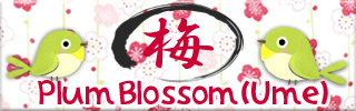 The Season of Plum Blossom (Ume)