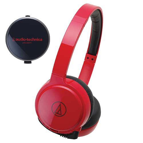 ... -WINDING RETRACTABLE FLAT CABLE] audio-technica / ATH-WM77 RD IM å Audio Technica