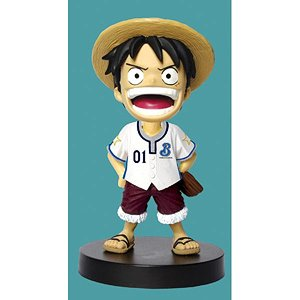 Bobbing Head One Piece Monkey D Luffy Yokohama DeNA BayStars Ver.