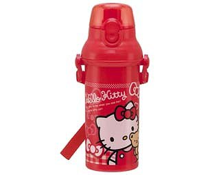 Hello Kitty(Bear & Ribbon)/One-Touch Direct Plastic Bottle