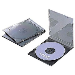 Slim CD Case (Set of 3) (CFC-01GY01)