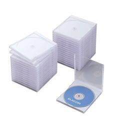 Standard CD/DVD Single Disc Case (Set of 30) (CCD-030LBK)