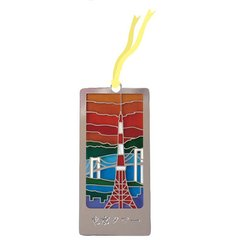Stained Glass Like Bookmark Tokyo Tower