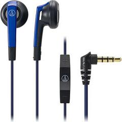 [For iPod iPhone iPad] audio-technica INNER EAR HEADPHONE /ATH-C505i BL