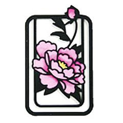 Ancient City Flower Clip Bookmarker Tree Peony (Botan)