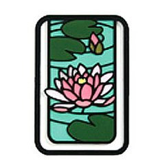 Ancient City Flower Clip Bookmarker Water Lily (Suiren)