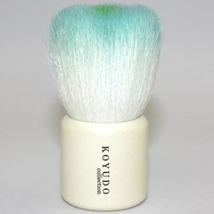Flower Facial Cleansing Brush Blue Pearl White