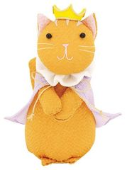 Princess Cat Chirimen Doll