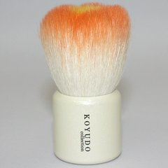 Flower Facial Cleansing Brush Orange