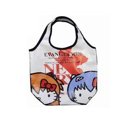 Evangelion x Hello Kitty Round Tote Bag EVKT-07