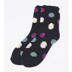 Dot Pattern Fluffy Warm Socks