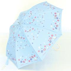 Otenki Komachi Umbrella (Rain & Shine) Flower and Rabbit
