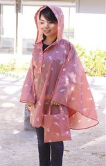 Amekomachi Rain Poncho Rabbit and A Drop