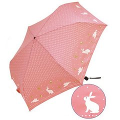 Amekomachi Folding Umbrella Rabbit and A Drop pink