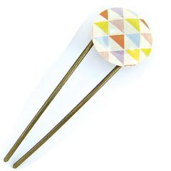 Yumekomachi Hair Stick (Kanzashi) Triangle