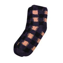 Checkered Pattern Fluffy Warm Socks