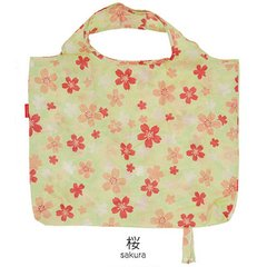 Cherry Blossom Pattern Folding Eco Bag