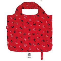 Cat Pattern Folding Eco Bag
