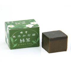 Tsubakido Natural Soap Green Tea