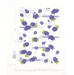 Hand Towel (Tenugui) with Ice Pack / Blue Peony