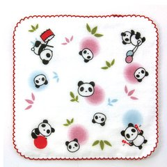 Animal Days Microfiber Mini Handkerchief / Panda