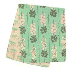 Double-Sided Gauze Hand Towel (Tenugui) / Hollyhock