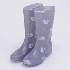 Rain Boots Rabbit (gray)