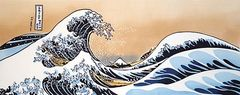 The Great Wave off Kanagawa Tenugui (Hand Towel)
