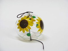 Edo Furin (Wind Bell) Sunflower