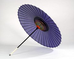 Plain Color Silk Parasol