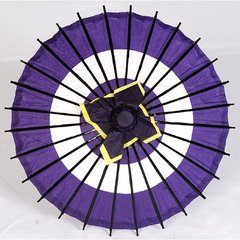 Bull's-Eye Pattern Mini Washi Parasol