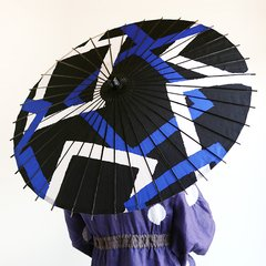 SOU SOU & Hiyoshiya Collaboration Japanese Umbrella (Rain & Shine)  Square