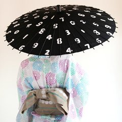 SOU SOU & Hiyoshiya Collaboration Japanese Umbrella (Rain & Shine) SOU SOU