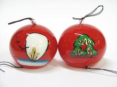 Edo Furin (Wind Bell) Treasure Ship & Pine
