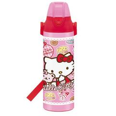 Hello Kitty (Bear, Ribbon, and Sweets) Direct Stainless Bottle 600ml