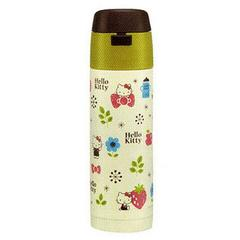 Hello Kitty (Scandinavian Taste) Stainless Bottle w/ Built-In Straw 350ml