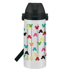 Mickey Mouse (Modern Pattern) Direct Stainless Bottle 800ml