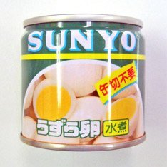 Canned Quail Egg in Spring Water