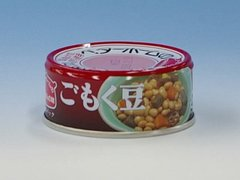 Canned Cooked Soybeans with Various Vegetables