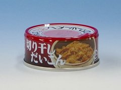 Canned Cooked Dried Japanese Radish Julienne