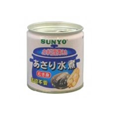 Canned Japanese Littleneck in Spring Water 85g