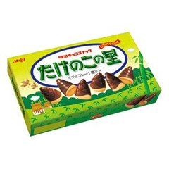 Chocolate Covered Bamboo Shaped Cookie Bits