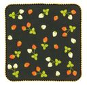 Strawberry Pattern Gauze Handkerchief