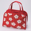 Spa Bag Check Japanese Plum Blossom (Ume)