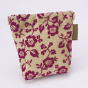 Hannari Canvas Spring Coin Purse