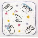 Animal Days Microfiber Mini Handkerchief / Polar Bear