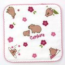 Animal Days Microfiber Mini Handkerchief / Capybara