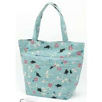 Black Cat Pattern Tote Bag Type B
