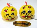 Edo Furin (Wind Bell) Beckoning Cat (Bright Eye)