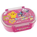 Pocket Monsters Best Wishes (pink) / Dishwasher Safe Slim Lunch Box (Round Shape)